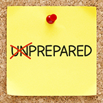 From unprepared to prepared