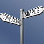 Choice of complicated or simple approaches to managing your marketing supply chain.