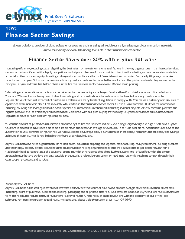 eLynxx-Sector-Savings-Finance
