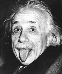 What A Fine Tongue Einstein Had