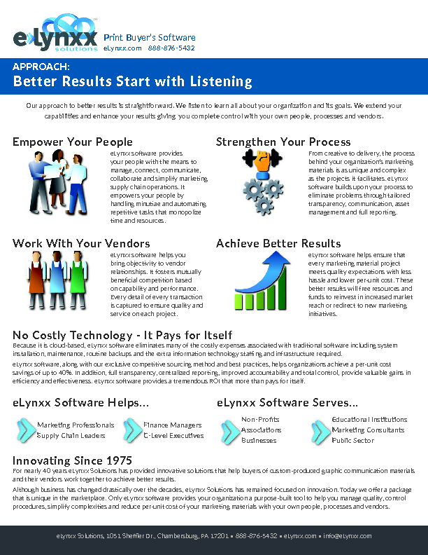 Better Results with Listening