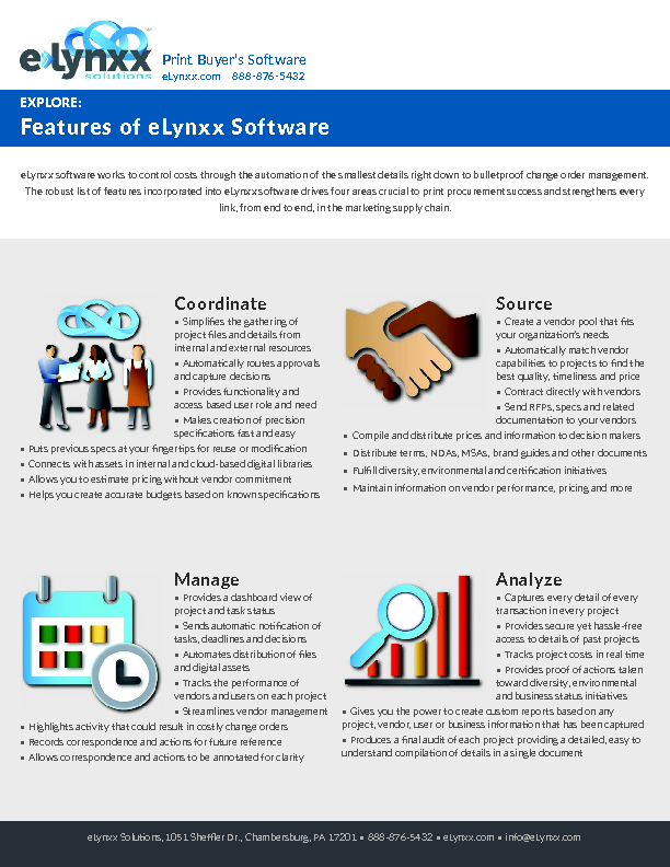 Features of Software