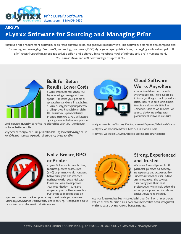 Source and Manage Print