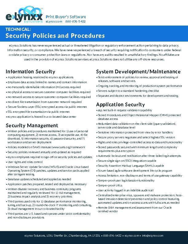 Videos & Documents   eLynxx Solutions
